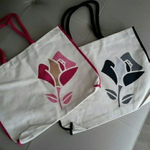Lancome Large Canvas Tote...FREE WITH PURCHASE!